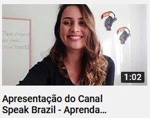 Canal Speak Brazil – Aprenda Português!